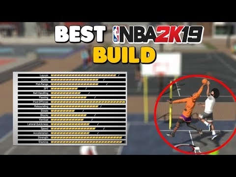 NBA 2K19 BEST BUILD!!!! CB GoCrazy Mixtape!!!