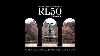 Ralph Lauren 50 Year Anniversary Show