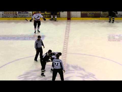 Patrick Bernier vs Chris Cloutier