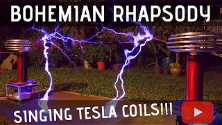 Bohemian Rhapsody Meets Singing Tesla Coils