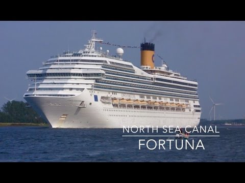 Cruise ship Costa Fortuna - North Sea Canal