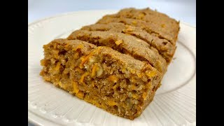 carrot cake with almond and coconut flour