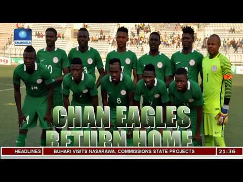 CHAN Eagles Arrive In Nigeria Pt.2 |Sports Tonight|