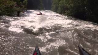 Schredder On The Cheoah The Last 2 Miles And An AMAZING Rescue Of A Paddler At The Brink Of Falls