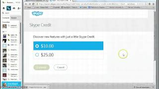 How To Call with Skype Credit by Rosanna Springer