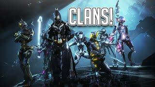 CLANS IN WARFRAME! (2020)