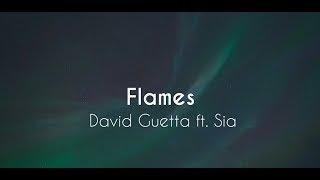 David Guetta Ft. Sia - Flames  Tradução