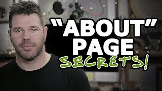 How To Write A (KILLER!) About Page For Your Website @TenTonOnline