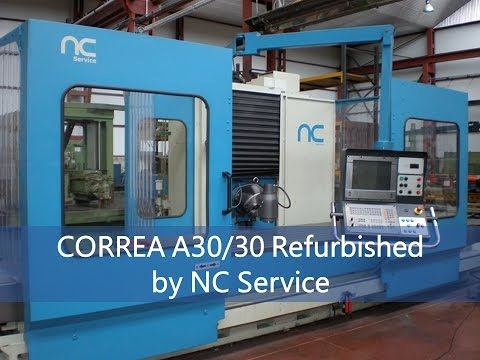 Bed type Milling machine CORREA A30/30 NC Service