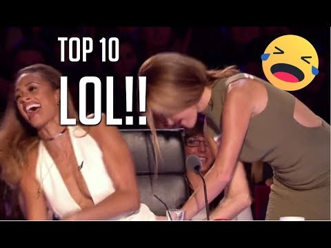 10 FUNNIEST AUDITIONS EVER ON BRITAIN&#39S GOT TALENT!