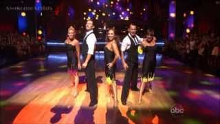 Cheryl Burke Routine With Tito Puente, Jr  DWTS