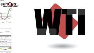 WTI CRUDE OIL - GOLD WTI   Analyse technique matieres premieres du 15-05-2017 par boursikoter