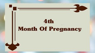4 Months Of Pregnancy   Complete Information Of 4th Month Of Pregnancy Symptoms Of 4th Of Pregnancy