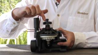 Valve Series: Hunter Sprinkler System Valve Operation
