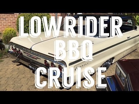 LOWRIDER BBQ CRUISE BELGIUM! (FT. Exclusive, Majestics, Unity, Supreme, Eastriddaz, Lunatics)