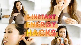 5 Interesting Energy Boosting Hacks!