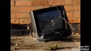 CRT TV Smash Compilation