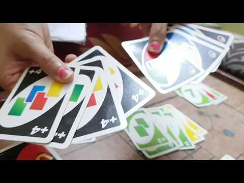 How to Play UNO in Hindi- 10k views