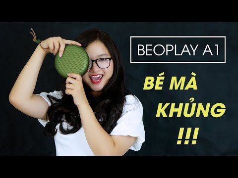 Review loa B&O Beoplay A1 l Nhỏ gọn nhưng đầy sức mạnh !!