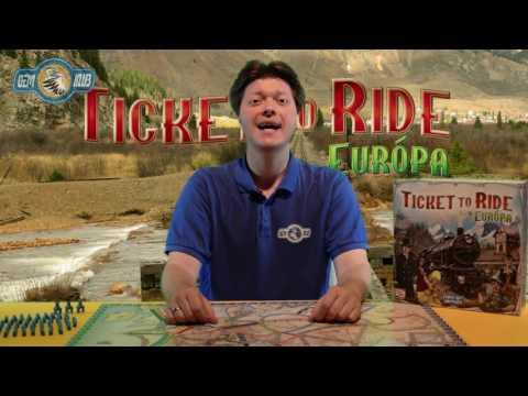Ticket to Ride - Európa - Gémklub