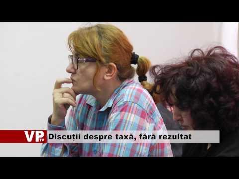 Discuții despre taxă, fără rezultat
