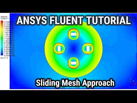 Ansys Fluent - Rotating airfoil  - смотреть онлайн на Hah Life