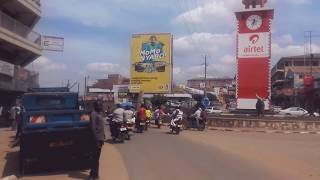 preview picture of video 'A ride along Mbarara's main thoroughfare'