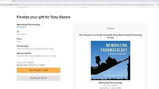 How to Give an audible book as a gift (audible send a book)
