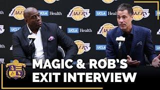 Lakers Exit Interviews 2018: Earvin Magic Johnson & Rob Pelinka