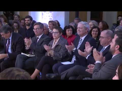 Ciência portuguesa pelo mundo - Marcelo Rebelo de Sousa, Jaime Gama e Rui Raposo