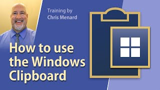 How to use the Windows clipboard