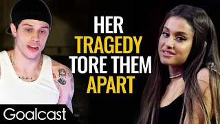 Why did Ariana Grande need Pete Davidson to rescue her?   Life Stories by Goalcast