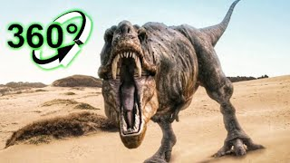 🔴 Jurassic World Evolution VR 360 Video of T-Rex Dinosaurs