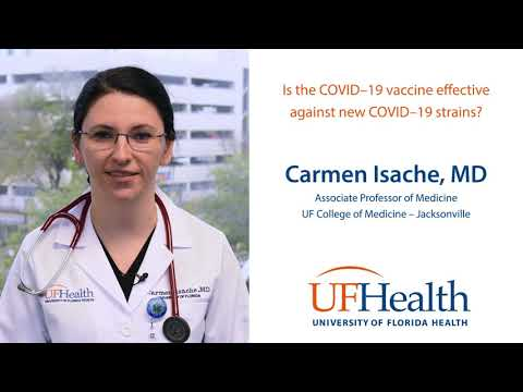 Is the COVID–19 vaccine effective against new COVID–19 strains?