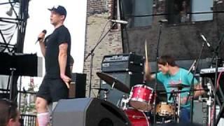 """Xiu Xiu and Deerhoof - """"Disorder"""" Joy Division Cover at Williamsburg Waterfront 7/11/2010"""