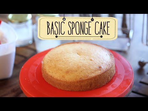 Video Eggless Sponge Cake | Easy Cake Recipe | Beat Batter Bake With Priyanka