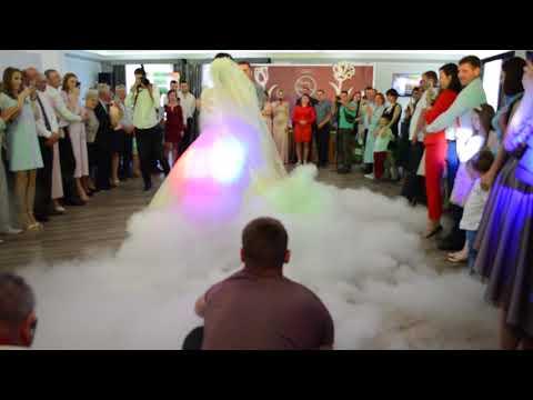 Оформлення весільного танцю спецефектами, відео 21