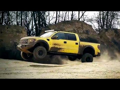 Mercedes 4×4 Vs Raptor | Top Gear Magazine