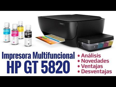 Multifuncional HP DeskJet GT 5820 - Analisis, Ventajas y Desventajas