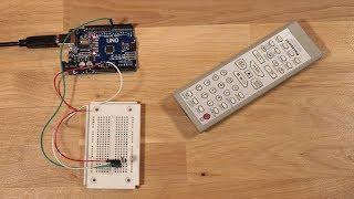 Infrarot Signale einer Fernbedienung decodieren mit dem Arduino und einem IR-Receiver