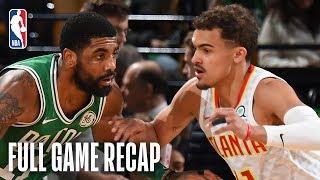 HAWKS vs CELTICS | Kyrie Irving's Near Triple-Double Leads Boston | March 16, 2019