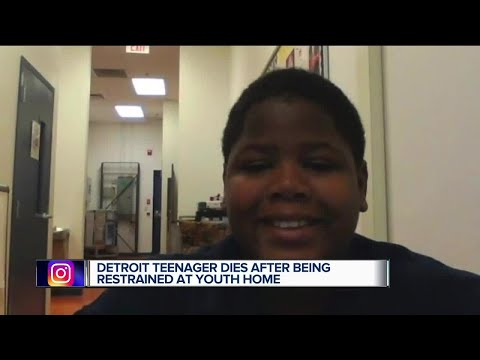 Detroit teenager dies after being restrained at youth home