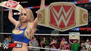 WWE 2K16 Creations: WWE Women's Championship (PS4)