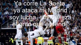 Hala Madrid y Nada Mas - Lyrics