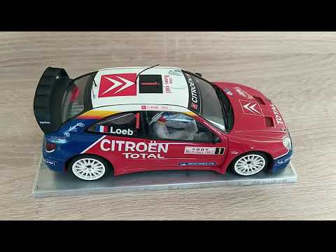 Citroen Xsara WRC  AUTOart Slot Car 1:24