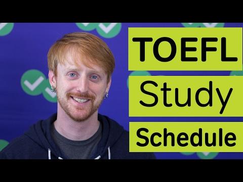 TOEFL Study Plan (1 Month)