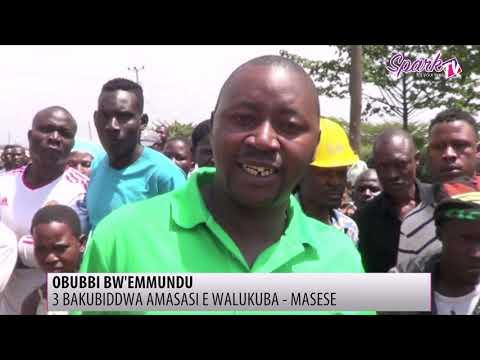 3 bakubiddwa amasasi, 2 bafiiriddewo e Walukuba Masese