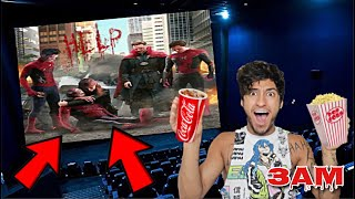 DO NOT WATCH SPIDER-MAN: NO WAY HOME MOVIE AT 3AM!! *OMG HE ACTUALLY CAME TO MY HOUSE*
