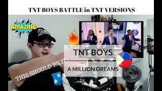 [REACTION] GOOSIES!! TNT BOYS - A MILLION DREAMS | TNT Versions | RANT for THE WORLD'S BEST EXIT