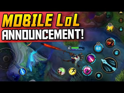 *NEW* LOL MOBILE ANNOUNCEMENTS & UPDATES! - League of Legends WILD RIFT Gameplay